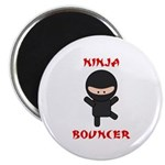 Ninja Bouncer Magnet
