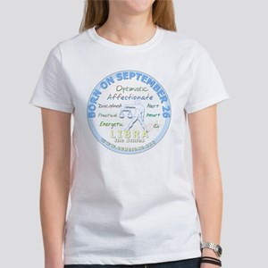 September 26th Birthday - Libra Pe Women's T-Shirt