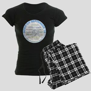 September 26th Birthday - Li Women's Dark Pajamas
