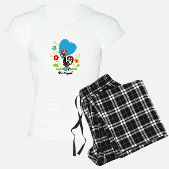 Portuguese Rooster Pajamas