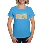 Seagulls On Siesta Beach Women's Dark T-Shirt