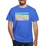 Seagulls On Siesta Beach Dark T-Shirt
