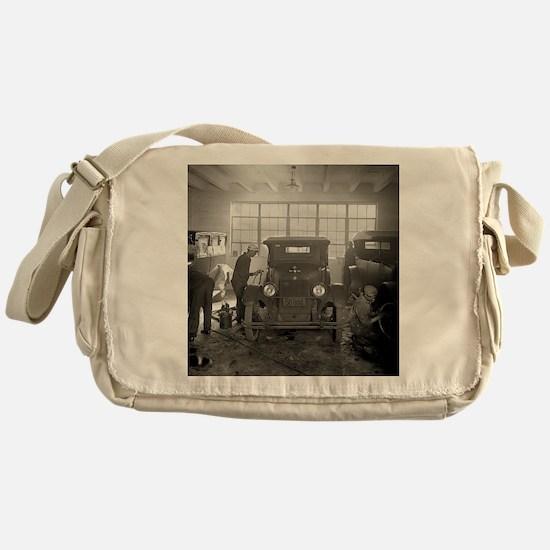 Auto Body Shop, 1926 Messenger Bag