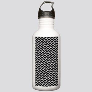 Thunderstorm Chevron Stainless Water Bottle 1.0L