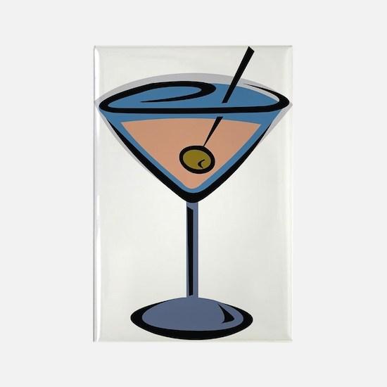 Martini Rectangle Magnet