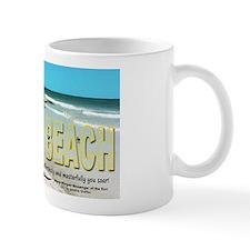 Seagulls On Siesta Beach Mugs