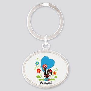 Portuguese Rooster Keychains