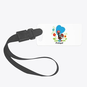 Portuguese Rooster Luggage Tag
