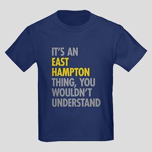 Its An East Hampton Thing Kids Dark T-Shirt