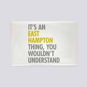Its An East Hampton Thing Rectangle Magnet