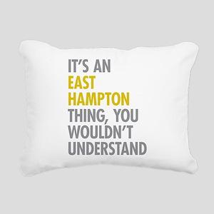 Its An East Hampton Thin Rectangular Canvas Pillow