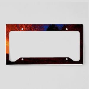 Fired Up License Plate Holder