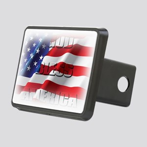 Patriotic God Bless America Hitch Cover
