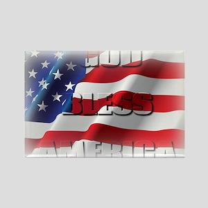 Patriotic God Bless America Magnets