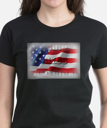 Patriotic God Bless America T-Shirt