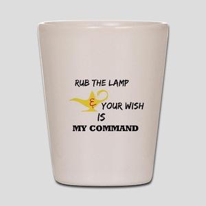 RightOn Make a wish Shot Glass