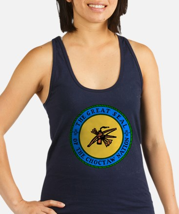 Great Seal Of The Choctaw Racerback Tank Top