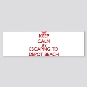 Keep calm by escaping to Depot Beach Michigan Bump