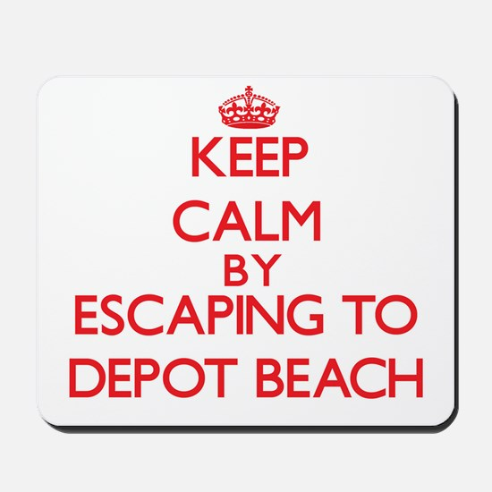 Keep calm by escaping to Depot Beach Michigan Mous