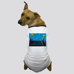 Tourism Agents at Work on the Pier Dog T-Shirt