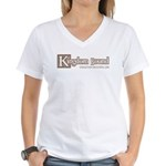 bookstore logo Women's V-Neck T-Shirt