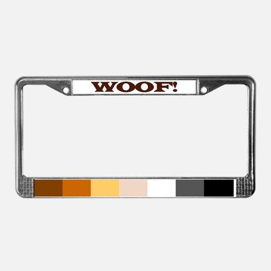 Funny Cub pride License Plate Frame