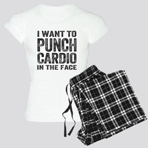 Punch Cardio In The Face Pajamas