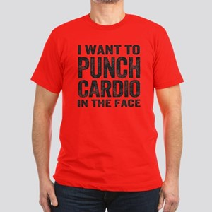 Punch Cardio In The Face T-Shirt