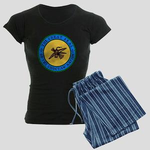Great Seal Of The Choctaw Women's Dark Pajamas