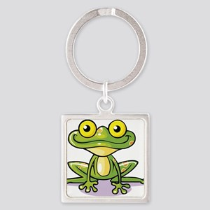 Cute Green Frog Keychains