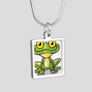 Cute Green Frog Necklaces