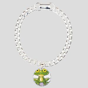 Cute Green Frog Bracelet