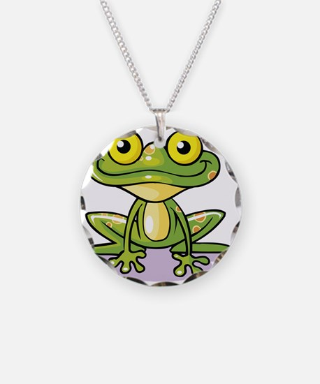 Cute Green Frog Necklace