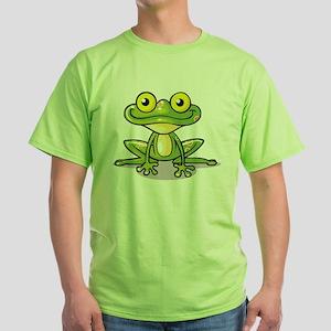 Cute Green Frog T-Shirt