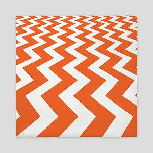 Fast Lane Orange Queen Duvet