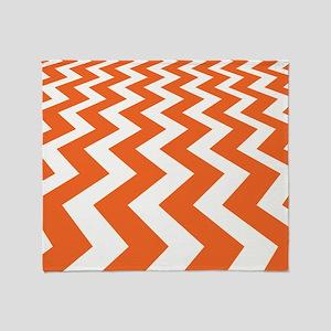 Fast Lane Orange Throw Blanket