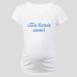 Little Miracle onboard Maternity T-Shirt
