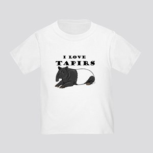 Smiling Tapir Toddler T-Shirt