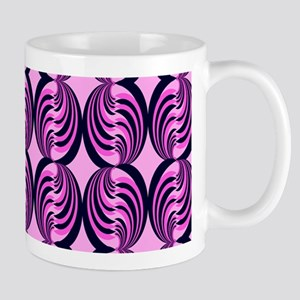 Pink Popping Swirls Mug