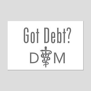 Got Debt - DVM Mini Poster Print