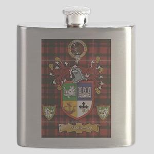 Scottish Surname MacKinnon Flask