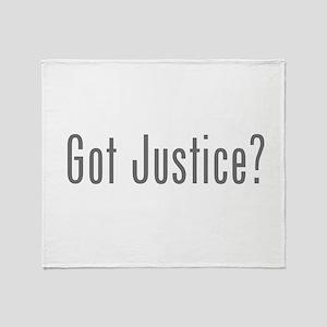 Got Justice? Throw Blanket