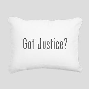 Got Justice? Rectangular Canvas Pillow