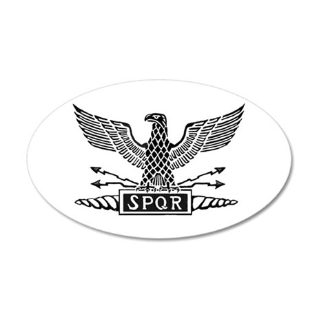 Roman Eagle 2 Basic Blk 20x12 Oval Wall Decal  sc 1 st  CafePress & Percy Jackson Wall Decals - CafePress