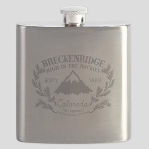 Breckenridge Rustic Flask