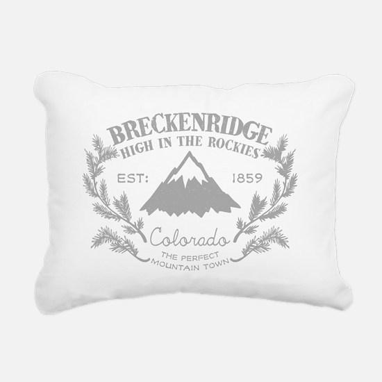 Breckenridge Rustic Rectangular Canvas Pillow