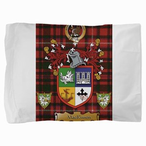 Scottish Surname MacKinnon Pillow Sham