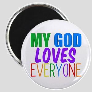 My God Loves Magnet