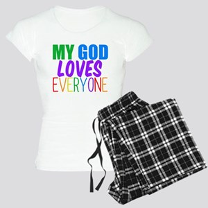 My God Loves Women's Light Pajamas