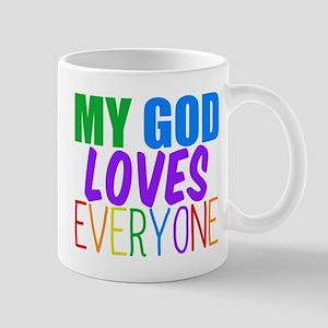 My God Loves Mug